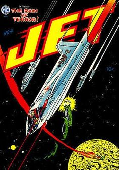 Jet Powers #4 - Comic Book Cover Poster