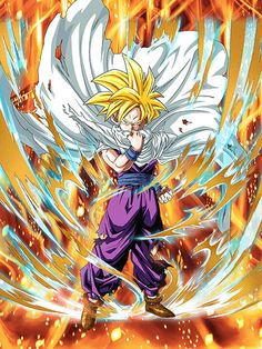 [Successor of the Strongest] Super Saiyan Teen Gohan/Dragon Ball Z: Dokkan Battle Dragon Ball Gt, Dragon Ball Z Shirt, Manga Dbz, Manga Dragon, Photo Dragon, Ps Wallpaper, Mobile Wallpaper, Fanart, Z Arts