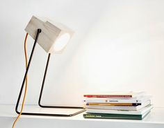 possible light choice for my future nightstand [ or floating shelf next to the bed ]