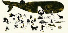 simone rea illustratore: Le Grandi Battaglie (serigraph)