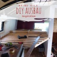 DIY Ausbau Selbstausbau Wohnmobil LKW Van Tiny House Bauwagen