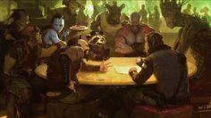 Meravigliosi Concept Art dei prossimi film Marvel: Guardians of the Galaxy