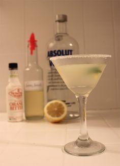 The Perfect Summer Cocktail- Basil Lemon Drop
