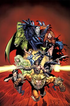 Uncanny X-Men #240 Cover by Marc Silvestri