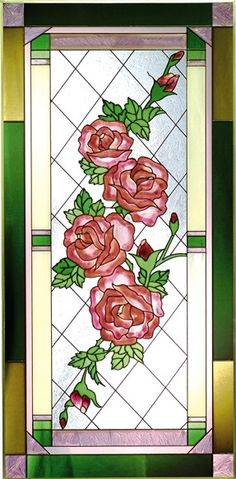 rose stained glass - Google Search