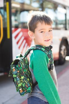 Dinosaur kids backpack! Hot Lava - Tula Kids Backpack. Time for some dino- a34df2fb1c9a4