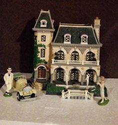 Department 56 Christmas in The City West Egg Mansion | eBay