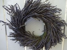 Lavender Wreath Dried Wreath Dried Lavender Wreath Fragrant Wreath Indoor Wreath Hostess Gift Birthday Gift Natural Wreath Gift Purple Wreath, Lavender Wreath, Dried Flowers, Blue Flowers, Autumn Wreaths For Front Door, Indoor Wreath, Spray Roses, Wreath Crafts, Hostess Gifts