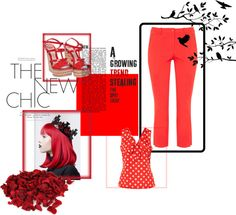 """""""I'm seeing red!"""" by purelypurses ❤ liked on Polyvore"""