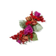 Floral Silk Brooch | Endource