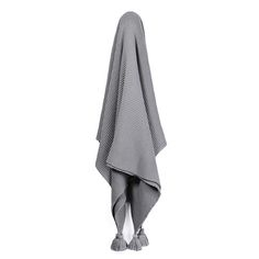 Casbah Throw Mid Grey