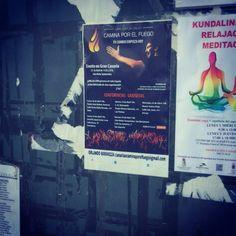 Nuestros carteles para nuestro evento del 25 de Abril en Gran Canaria empiezan a ser visibles ... ¿Ya los has visto?   Pide informacion en caminaporelfuego@gmail.com  #caminaporelfuego #laingarciacalvo #tucambioempiezahoy #firewalking  www.caminaporelfuego.com