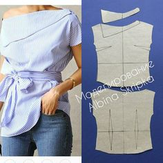 Amazing Sewing Patterns Clone Your Clothes Ideas. Enchanting Sewing Patterns Clone Your Clothes Ideas. Dress Sewing Patterns, Clothing Patterns, Fashion Sewing, Diy Fashion, Sewing Blouses, Diy Clothing, Refashion, Dressmaking, Pattern Fashion
