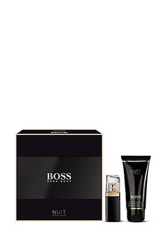 BOSS Nuit gift set with Eau de Parfum and Body Lotion , Assorted-Pre-Pack