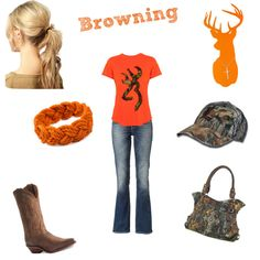 """Browning <3"" by countrygirl99 on Polyvore"