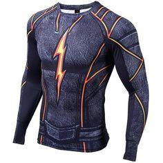 83 Best SuperHero Long Sleever Compression Shirt images