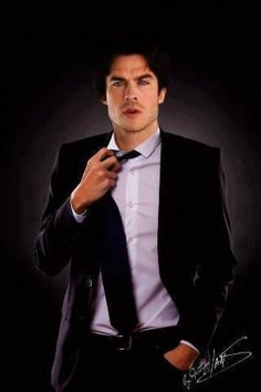 Ian Somerhalder He could be Christian Gray.....