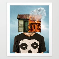 subleva Art Print by Seamless - $15.00