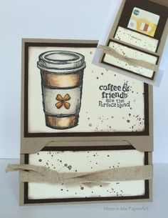 Perfect Blend Gift Card Holder