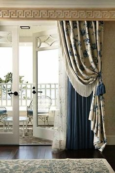 Оригинальное оформление окон: идеи, способные добавить изящества и стиля Vorhänge  Gardinen, Balkon,