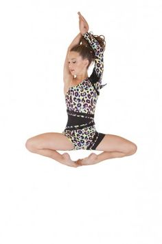 Contemporary Dance Costume - Hot Pink Instinct - Jazz Costume