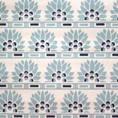 collections - little egypt - aqua blue on white
