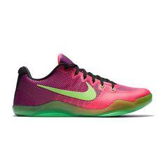4dec4726b544 Men s Nike Pink Green Kobe XI Basketball Shoe Kobe Bryant Shoes