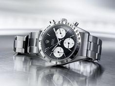 """La saga """"Daytona"""" de Rolex s'expose au Bon Marché http://www.vogue.fr/joaillerie/a-voir/diaporama/la-saga-montres-daytona-de-rolex-s-expose-au-bon-marche-paris-horlogerie/15599/image/870172"""