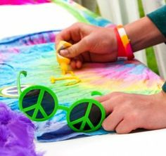 Great #activity for a great 60s party.