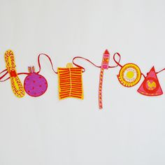 Diwali Pataakha bunting perfect for a kids room!