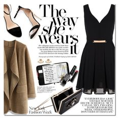 """""""60 Second Style: NYFW After Party"""" by dian-lado ❤ liked on Polyvore featuring Zara, Mela Loves London, Chicwish, Bobbi Brown Cosmetics, D&G, Rebecca Minkoff, Noir, NYFW, nyfwfashion and NYFW2015"""