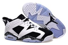 """huge selection of b6705 3fe34 2015 Air Jordan 6 Low """"Oreo"""" White Black Shoes For Sale from Reliable Big  Discount ! 2015 Air Jordan 6 Low """"Oreo"""" White Black Shoes For Sale  suppliers."""