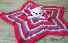 Patron crochet / manta de apego / conejito amigurumi de GateandoCrochet en Etsy