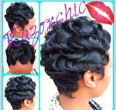 23 Best Finger Waves Hair Images On Pinterest Short Hair Dos