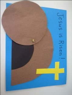 Elementary _ Jesus was buried (alternative craft option)