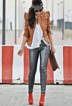 Lose the booties,and shirt but love the pants, jacket and headband
