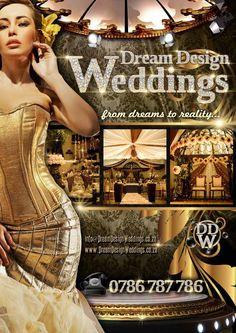 Book your Dream Design Wedding dial 0786 787 786