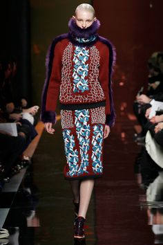 Peter Pilotto | Fall 2014 Ready-to-Wear Collection | Style.com [Photo: Marcus Tondo / Indigitalimages.com]