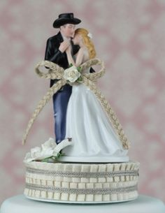 Lasso of Love Wedding Cake Toppers