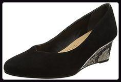 Van Dal Damen Hanover Espadrilles, Black (Black Suede/Powder Snake) , EU for sale Espadrilles, Partner, Black Suede, Wedges, Best Deals, Link, Shoes, Fashion, Self