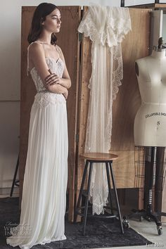 lihi hod 2017 bridal spagetti strap sweetheart neckline heavily embellished bodice pleated skirt modified a  line weddng dress (daria) sdv mv