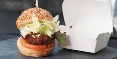 LA TABERNA DE TITO presenta esta jugosa hamburguesa gourmet al concurso de bocados de autor de Alicante; EXQUISITA. Teneis q probarla!