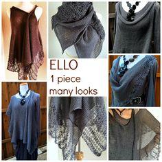 The fabulous ELLO vest Wear it more ways then one.... http://www.ravelry.com/patterns/library/e-l-l-o