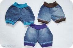 Jeans-Shorts für warme Sommertage ~ Mara Zeitspieler