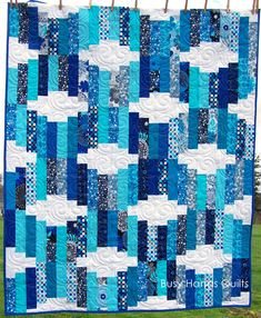 ideas for easy hand quilting patterns fat quarters Easy Hand Quilting, Modern Quilting Designs, Hand Quilting Patterns, Machine Quilting Designs, Modern Quilt Patterns, Easy Quilts, Quilting Ideas, Block Patterns, Quilt Designs