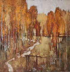 Love these birches by the very talented Belarussian painter Alexander Zavarin - Pintores rusos - Trianarts Rodriguez - Picasa Web Albums Landscape Artwork, Abstract Landscape, Abstract Art, Russian Landscape, Impressionist Art, Russian Art, Tree Art, Art Oil, Painting Inspiration