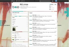 Biorivista Twitter Account