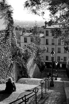 Montmartre, rue du Calvaire, Paris XVIII