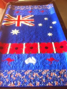 Aussie Hero Quilts (and laundry bags): Slice of Life - Jenny S Quilting Ideas, Quilt Patterns, Laundry Bags, Patriotic Quilts, Quilt Of Valor, Slice Of Life, Quilt Tutorials, Baby Quilts, Flags