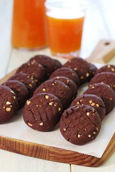 Cinco Quartos de Laranja: Biscoitos de alfarroba e amêndoa